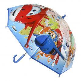 Disney Brand Chlapčenský dáždnik Super Wings - farebný