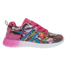 J HAYBER Dievčenské tenisky s potlačou - ružové