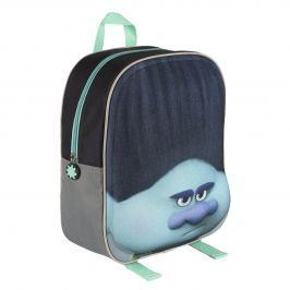 Disney Brand Detský batôžtek Trollovia, šedivý