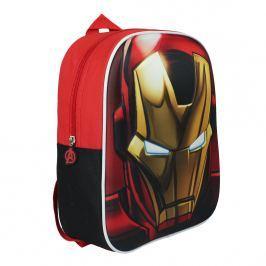 Disney Brand Detský batôžtek Avengers, červený