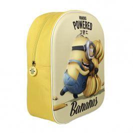 Disney Brand Detský batôžtek Mimoni 3D, žltý