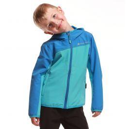 ALPINE PRO Chlapčenská bunda Brennibo - modrá