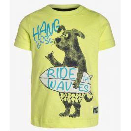 Blue Seven Chlapčenské tričko Ride the waves - žlté
