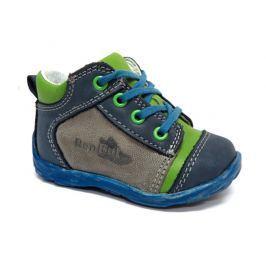 Ren But Chlapčenské celokožené členkové topánky - farebné