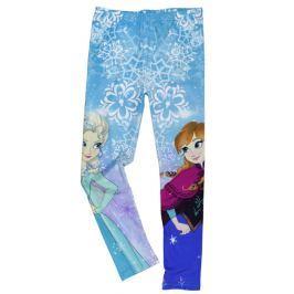 E plus M Dievčenské legíny Frozen - modré
