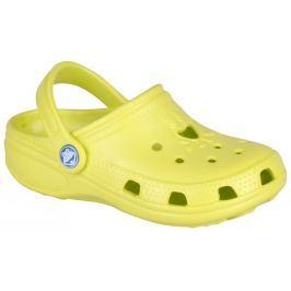 Coqui Detské sandále Big Frog - svetložlté