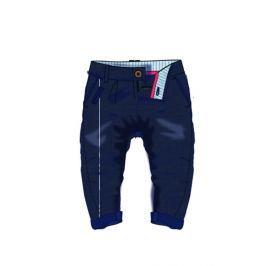 Minoti Chlapčenské bavlnené nohavice - modré