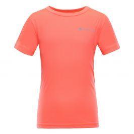 ALPINE PRO Detské funkčné tričko Hoto - oranžové
