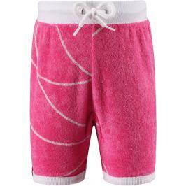 Reima Dievčenské froté kraťasy Marmara s UV ochranou 50+ - ružové