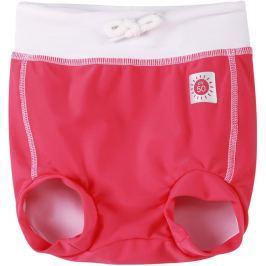 Reima Dievčenské plavecké šortky s plienkou Belize s UV ochranou 50+ - červené