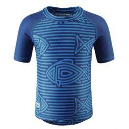 Reima Chlapčenské plavecké triko Azores s UV ochranou 50+ modré