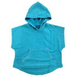Blue Seven Dievčenská mikina / pončo - modré