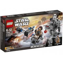 LEGO® Star Wars ™ 75195 Snežný spídr ™ a kráčajúci kolos Prvého poriadku ™