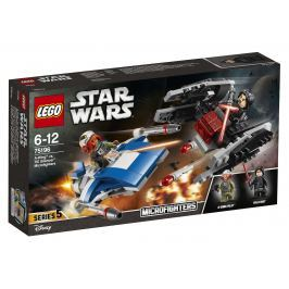 LEGO® Star Wars ™ 75196 Stíhačka A-Wing ™ vs. mikrostíhačka TIE Silencer ™