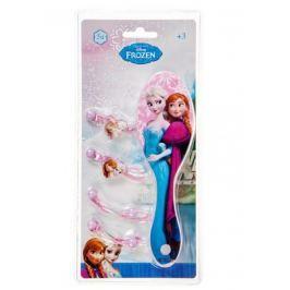Disney Brand Dievčenská súprava hrebeňa a gumičiek Frozen