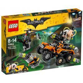 LEGO® Batman Movie 70914 Bane ™ a útok s nákladiakom plným jedov