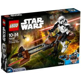 LEGO® Construction Star Wars 75532 Prieskumný vojak a speederová motorka