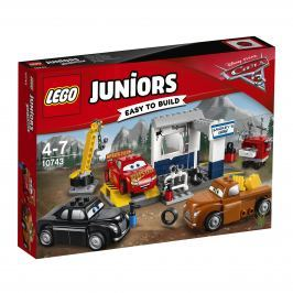 LEGO® Juniors 10743 Čmoudíkova garáž