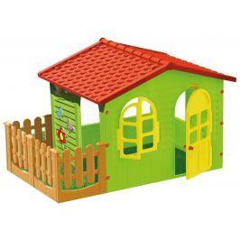 MOCHTOYS Detský záhradný domček s plotom veľký