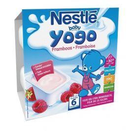 Nestlé Baby Yogo malina, 4x100g