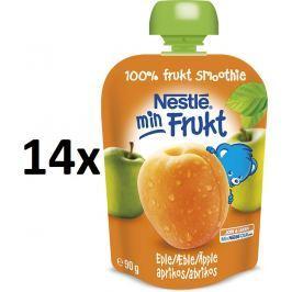 Nestlé kapsička marhuľa a jablko, 14x90g