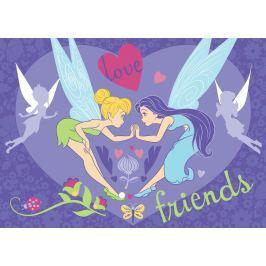 Carpet your life Detský koberec Fairy Love Friends, 95x133 cm - fialový