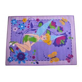 Carpet your life Detský koberec Fairy Flowers, 95x133 cm - fialový