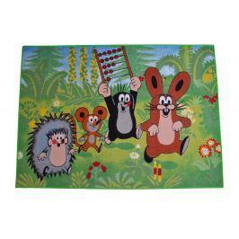 Carpet your life Detský koberec Krtko a kamaráti, 95x133 cm - farebný