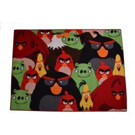 Carpet your life Detský koberec Angry Birds, 95x133 cm - farebný