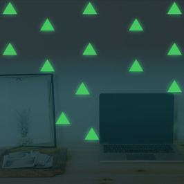 Walplus Svietiaca samolepka na stenu trojuholníky