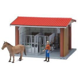 Bruder 62520 Stajňa s koňom, figúrkou a príslušenstvo