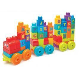 Mega Bloks Vláčik s písmenkami