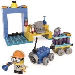 Mega Bloks Mimoni laboratórium s vozidlom