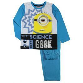 E plus M Chlapčenské pyžamo Mimoňmi - svetlo modré