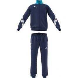 adidas Chlapčenská tepláková súprava - tmavo modrá