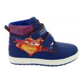 Disney by Arnetta Chlapčenské členkové topánky Cars - modré