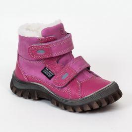 RAK Dievčenské zimné topánky Aurora - ružové