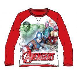 Disney by Arnetta Chlapčenské tričko Avengers - červené
