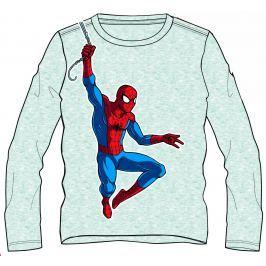 Disney by Arnetta Chlapčenské tričko Spiderman - sivé