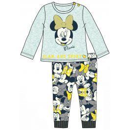 Disney by Arnetta Dievčenská súprava trička a legín Minnie - sivá