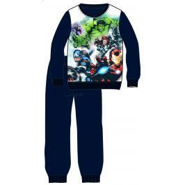 Disney by Arnetta Chlapčenské pyžamo Avengers - čierne