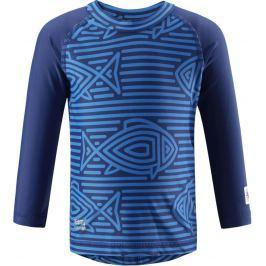 Reima Chlapčenské plavecké triko Borneo s UV ochranou 50+ modré