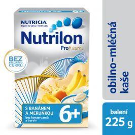Nutrilon Mliečna kaša krupicová s banánom a marhuľou, 225g