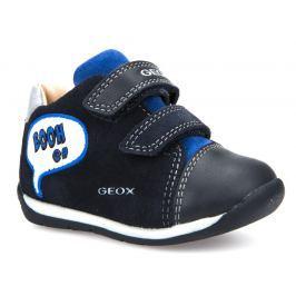 Geox Chlapčenské členkové tenisky Each - tmavo modré