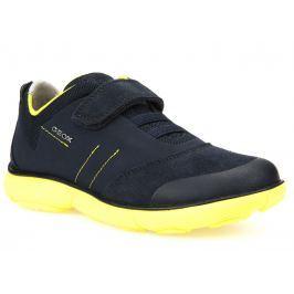 Geox Chlapčenské tenisky Nebula - modro-žlté
