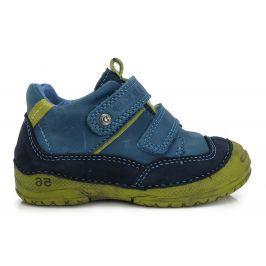 D.D.step Chlapčenské členkové topánky - modro-zelené