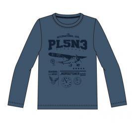 Name it Chlapčenské tričko s potlačou - modré