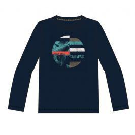 Name it Chlapčenské tričko s potlačou - tmavo modré