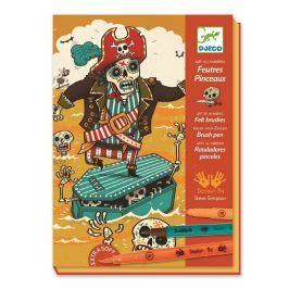 Djeco Výtvarná súprava Pirátska banda
