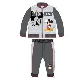 E plus M Chlapčenský dvojkomplet Mickey - sivý